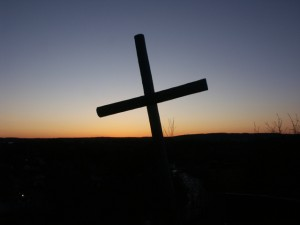 Cross at the Cemetary