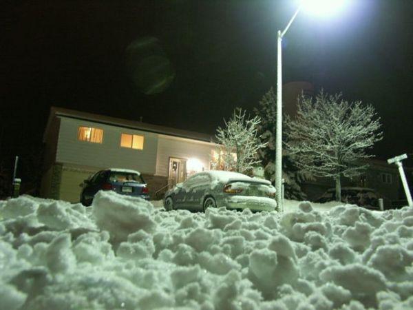 snowincannington