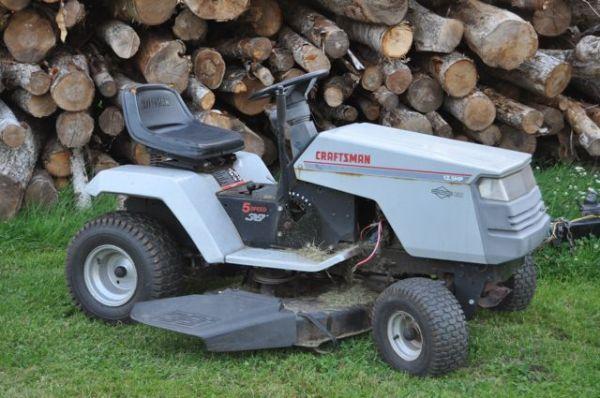 2010 Sears Craftsman Garden Tractors : My lawn tractor micahgallant