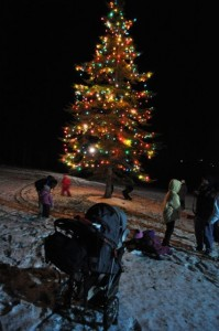 Christmas Tree Lighting, Hunter River